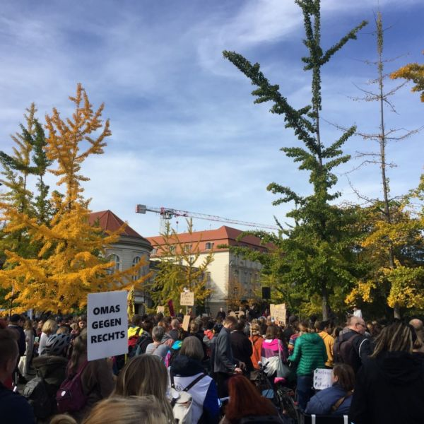Youth demonstration against climate change, Berlin, 18 October 2019