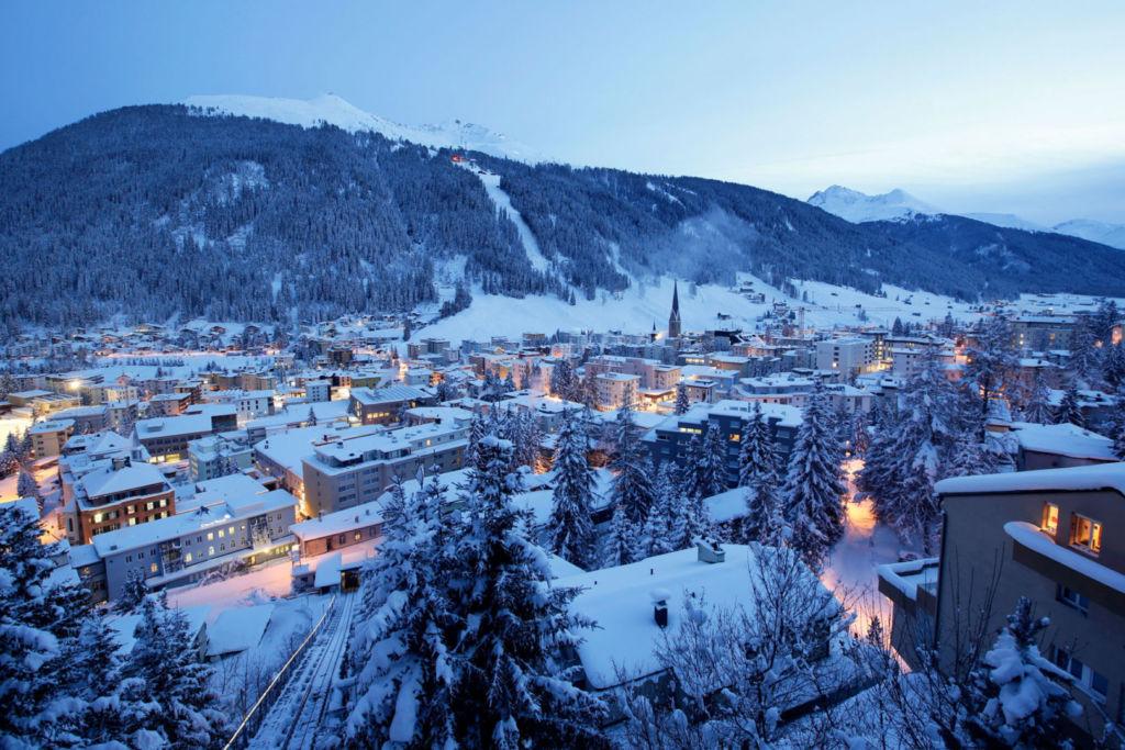 Davos Agenda-Blue Hour